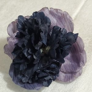 LOFT Purple Flower Pin Brooch #458